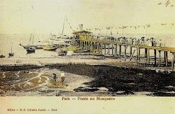 """Trapiche da Vila, construído em 1908, pela companhia """"Porto of Pará"""""""
