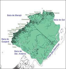 Mapa de Mosqueiro-Belém-Pará