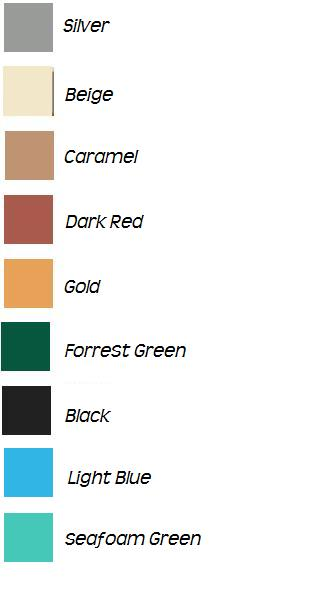Vinyl colors as of right now...... MORE COMING!
