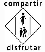 El conflicto lo generan los coches y no los peatones o los ciclistas