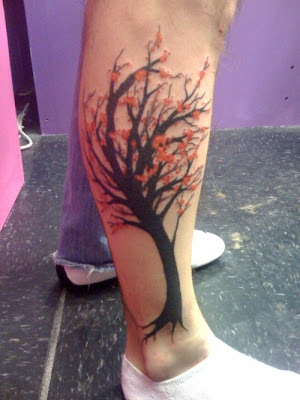 Cherry Blossom Tattoos Designs 2011