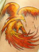 Phoenix are a very popular tattoo design. Phoenix made as phoenix tribal .