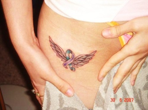 The Symbol of Angle Wings Tattoo. Angel Wing … Devil Angel Tattoos.