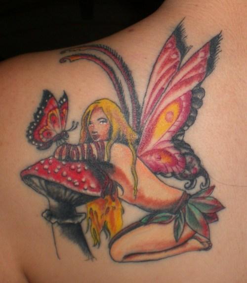 butterfly tattoo ideas. utterfly tattoos, fairy