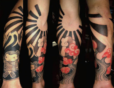 Japanese sleeve design choice