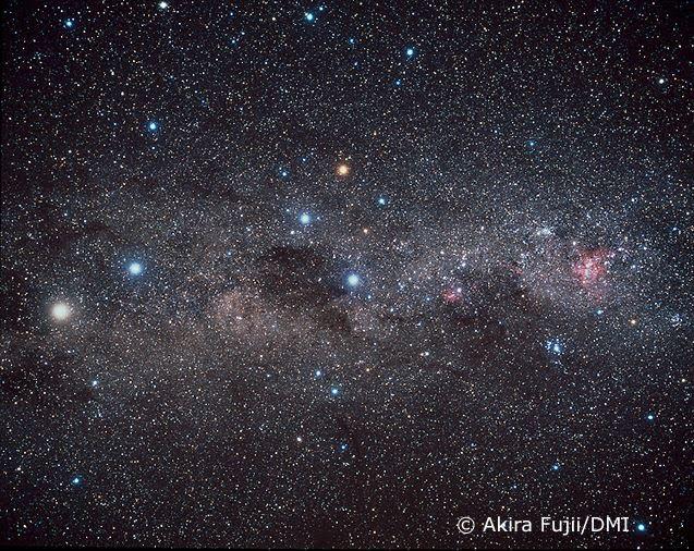 Una constelación que se ve durante todo el año desde Uruguay