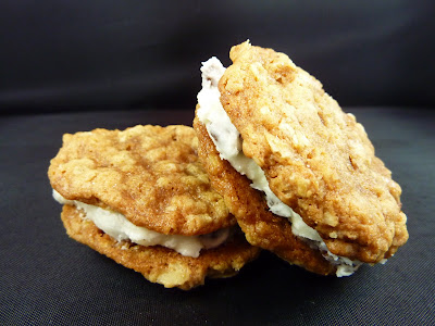 Cookies on Friday: Oatmeal Sandwich Cookies with Rum Raisin Filling