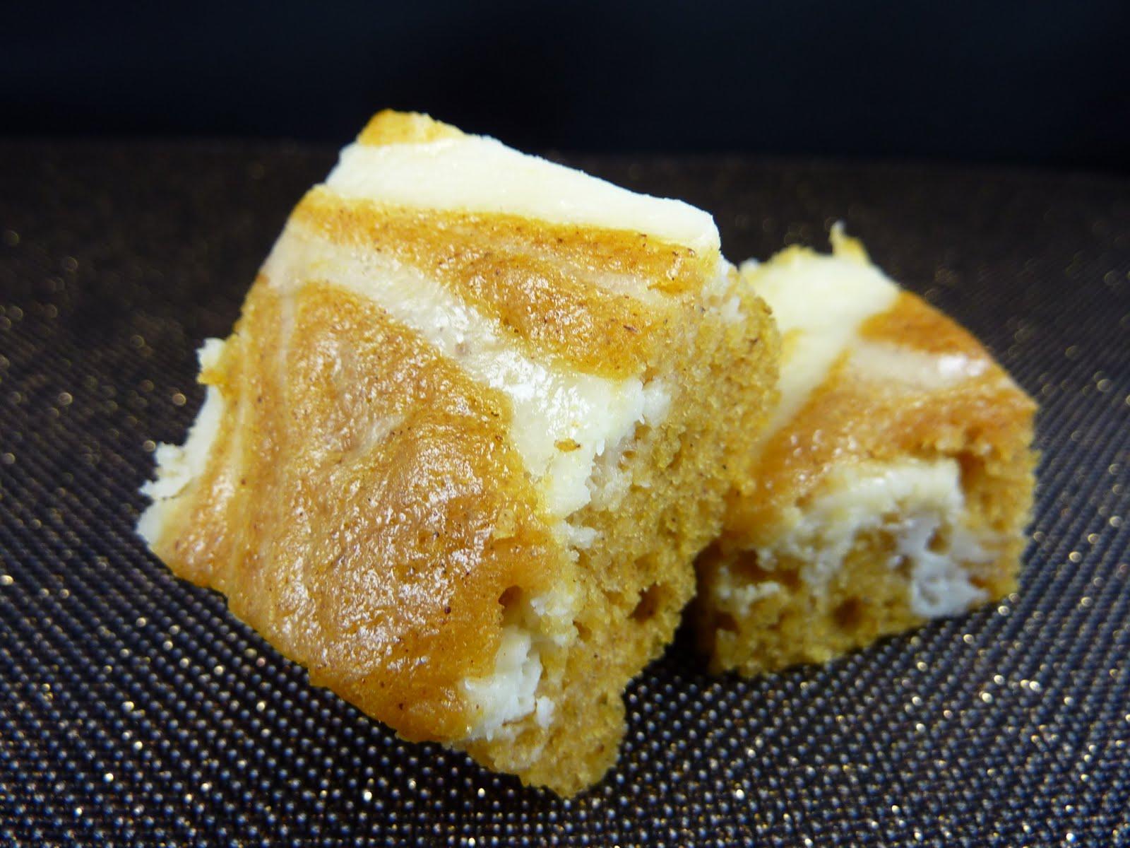 Cookies on Friday: Pumpkin Cream Cheese Swirl Bars