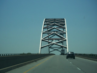 Bridge over the Ohio River leading into Paducah