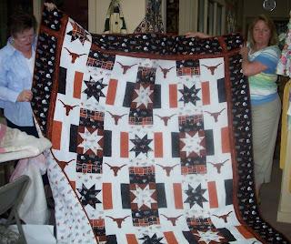 Pam's Texas Longarm quilt