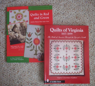 two quilt books bought in Fenton