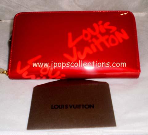 Kode: Dompet Paspor LV Lipstick Merah