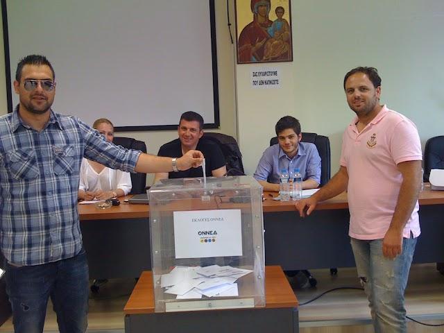 Ομαλή η ψηφοφορία για νέο Πρόεδρο της ΟΝΝΕΔ