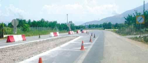 Παρεμβάσεις για την οδική ασφάλεια στους εθνικούς δρόμους