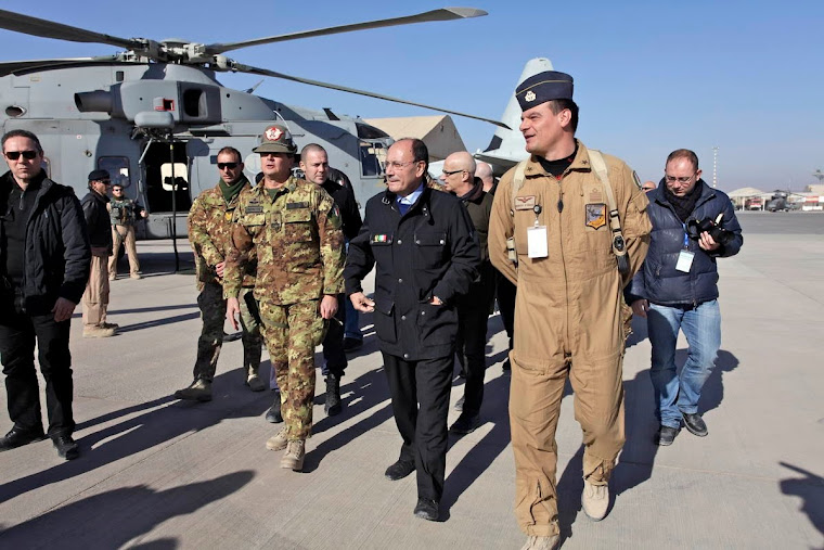 AFGHANISTAN, ARRIVO A CAMP ARENA