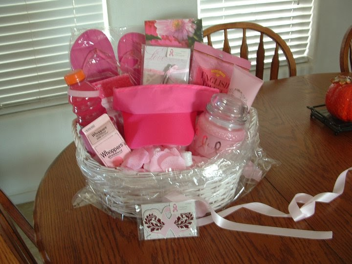 Scented Gold: Breast Cancer Awareness Gift Basket