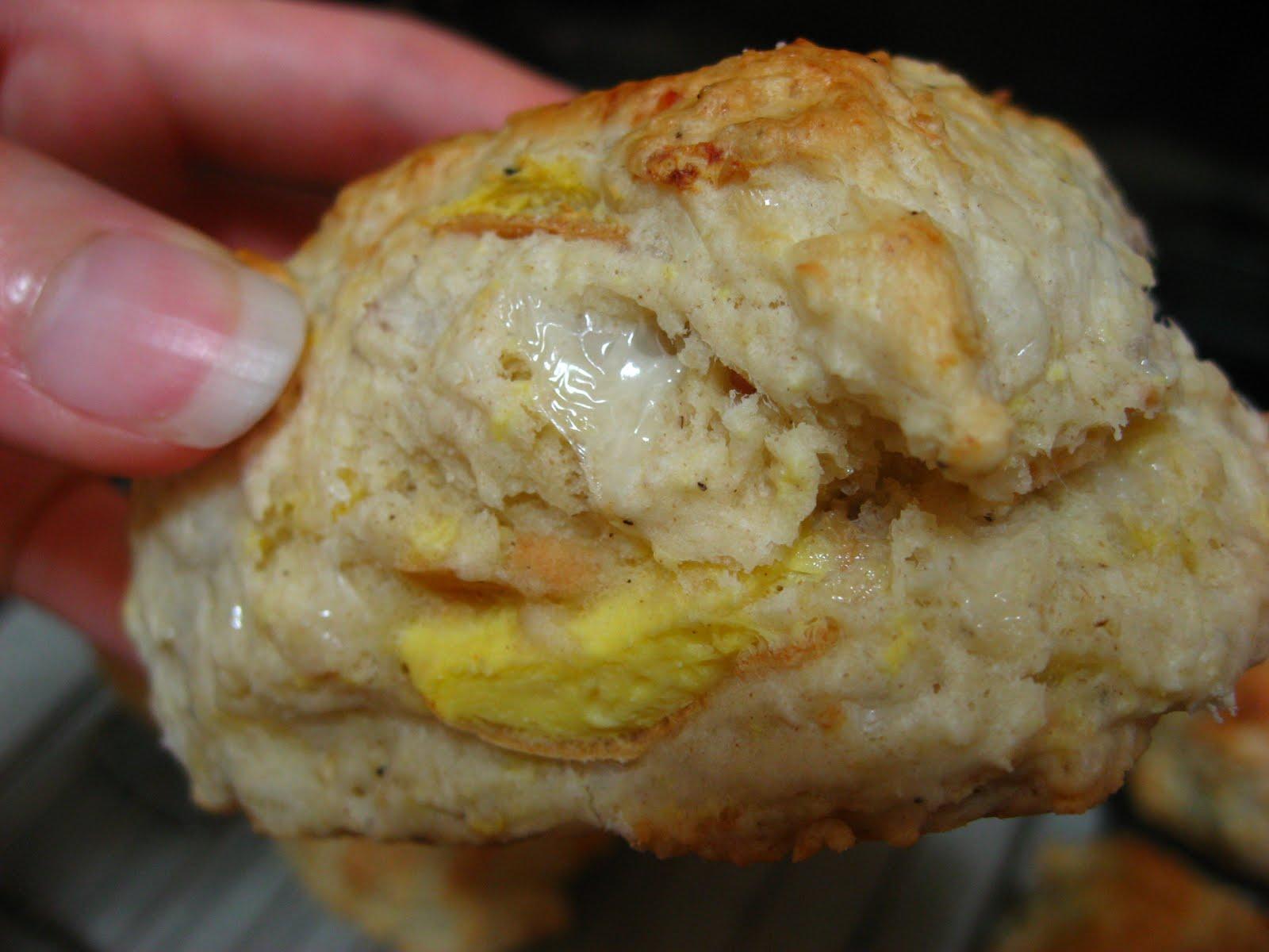 Slacker: Bacon, Egg, and Cheese Scones