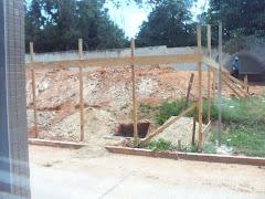 Construção tomando forma...