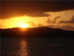 Mais um pôr-do-sol na Sapetinga