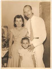 Meu pais e eu, em 1954