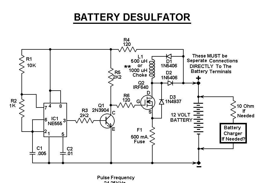 battery life made longer ever tried battery desulfators rh desulfatorbattery blogspot com  battery desulfator schematic diagram