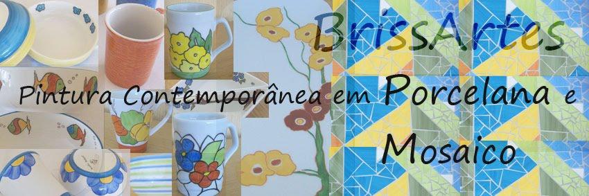 BrissArtes - Pintura em Porcelana e Mosaicos