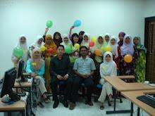Bersama peserta kursus @ UKM