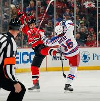 Rangers Beat Last Place Devils
