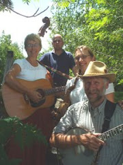 Deborah Jean, Kelly and Randy with Mike Gayheart at the Applalchian Musicfest