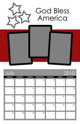 http://janellefam.blogspot.com/2009/07/july-calendar-template-freebie.html