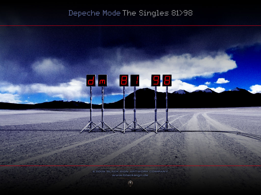Depeche Mode - Singles Box 4