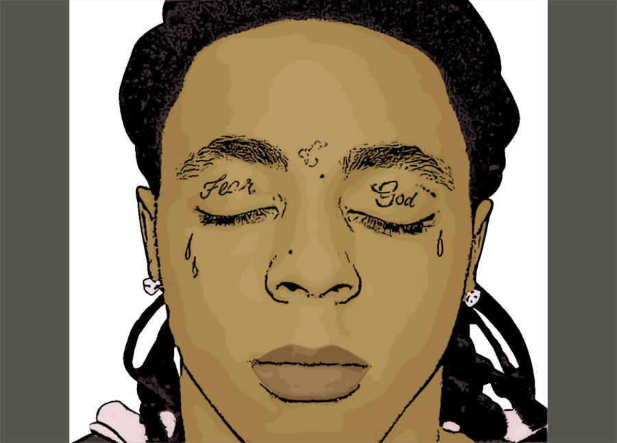 Lil Wayne Hot Pictures. Lil Wayne Cartoon Image