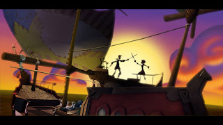 Tales of Monkey Island (Happy talk like a pirate day)