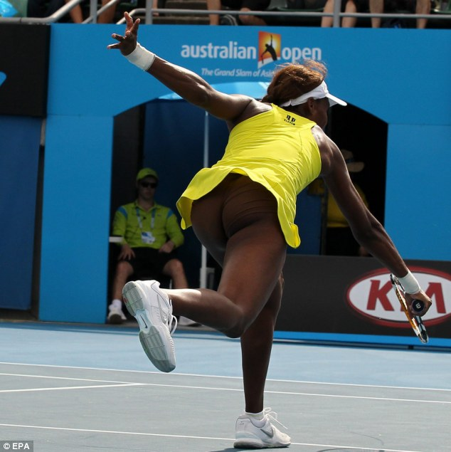 Venus Williams Clothes Cause A Stir With Flesh Coloured Undies