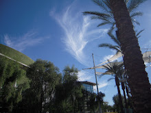 Angel Clouds over Mesa Art Center