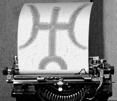 Uranus transits 6th house typewriter