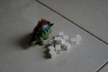 This Dino equals to these white wooden blocks