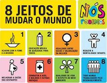 8 jeitos de mudar o mundo