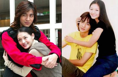 Vic Zhou and Barbie Hsu: April 2009