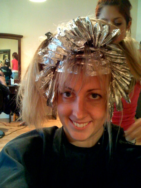 Put down the peroxide and step away from the foils.