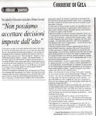 Corriere di Gela 05/04/2008