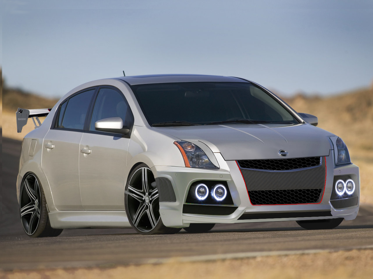 Virtual car tuning and modification my gallery nissan sentra se r gt tuned vanachro Images