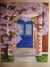Pink Magnolias and the Blue Door
