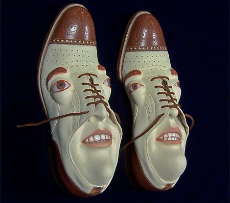 Unusual And Funny Shoes With Faces Unusual Things