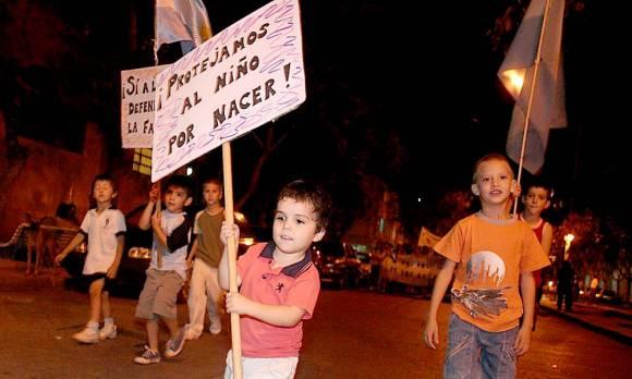 """MARCHA POR LA VIDA -  SAN JUAN, 27 de Marzo de 2009 - ARGENTINA"""