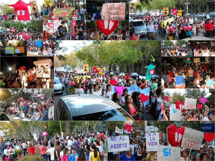 """MARCHA POR LA VIDA - SAN JUAN, 26 de Marzo de 2010 - Argentina"""