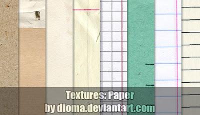 diversos diseños texturas de papel