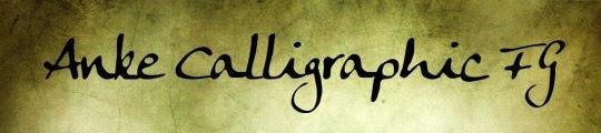 fuentes elegantes caligraficas 2 gratis