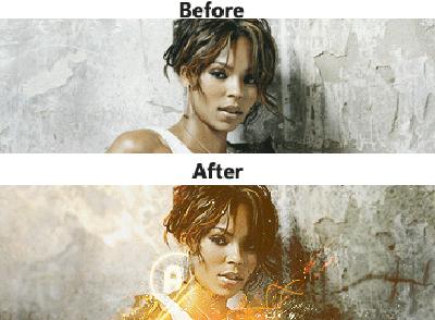 efecto photoshop