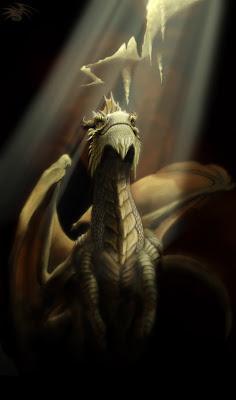 trabajos de ilustracion digital de dragones